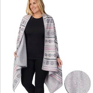 Cuddl duds blanket wrap